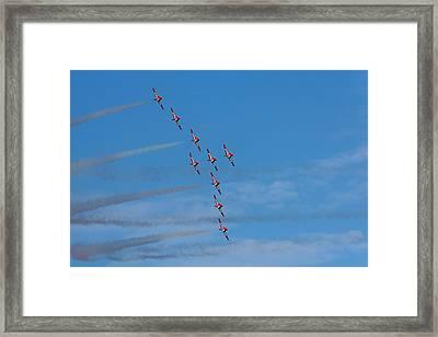 Snowbirds Framed Print by Matt Dobson