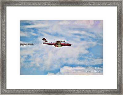 Framed Print featuring the photograph Snowbirds Number 9 by Cathy  Beharriell