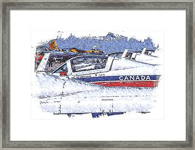 Snowbirds Framed Print
