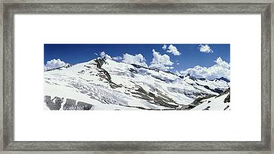 Snowcapped Mountains, Grossvenediger Framed Print by Panoramic Images