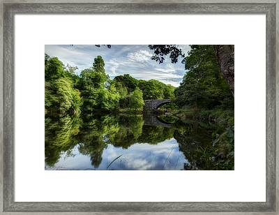 Snowdonia Summer On The River Framed Print