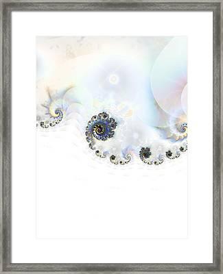 Snowdrift Framed Print by Sharon Lisa Clarke