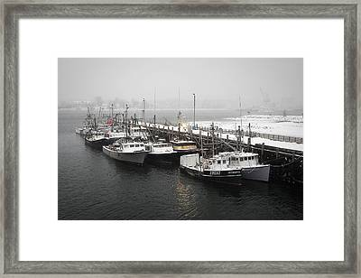 Snowed In Framed Print by Eric Gendron