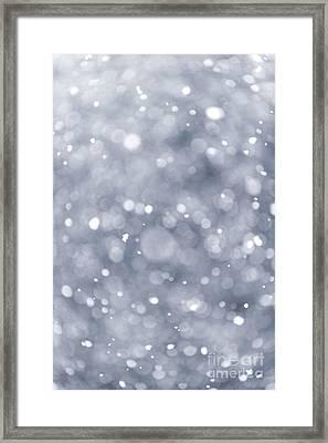 Snowfall  Framed Print by Elena Elisseeva