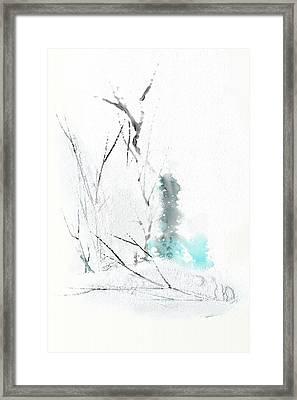Snowfall Framed Print by Len YewHeng