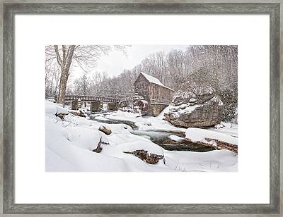 Snowglade Creek Grist Mill 1 Framed Print