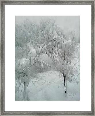 Snowland Framed Print by Kume Bryant