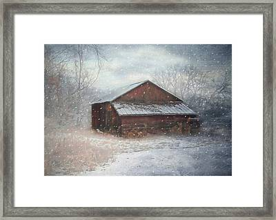 Snowland Framed Print by Mary Timman