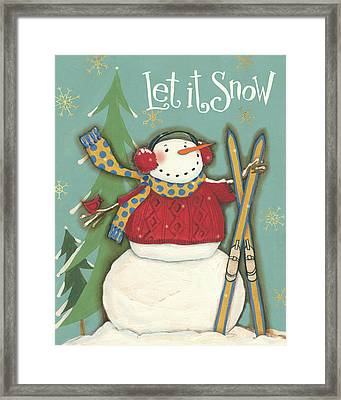 Snowmen Season IIi Framed Print