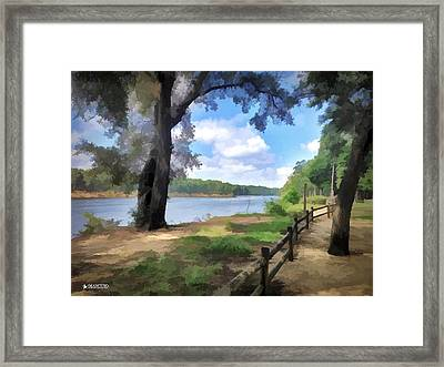 Snows Cut Late Summer Afternoon Framed Print
