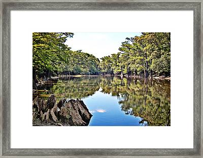 Framed Print featuring the photograph Snows Lake by Linda Brown