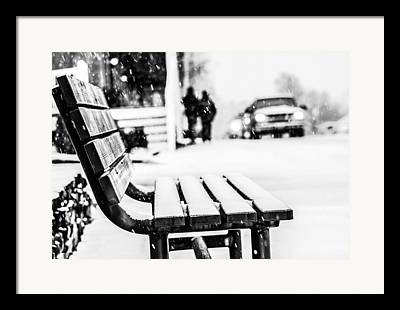 Decorative Benches Framed Prints