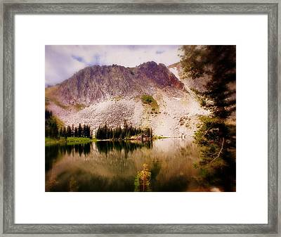 Snowy Mountains Loop 2 Framed Print by Marty Koch