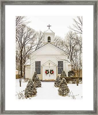Nauraushaun Church Framed Print