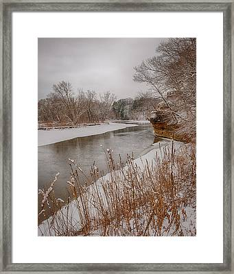 Snowy River Framed Print by Jim Kuchler