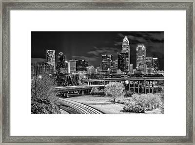 Snowy South Framed Print
