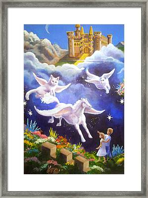 Snowy's Lament Framed Print by Timothy Tron