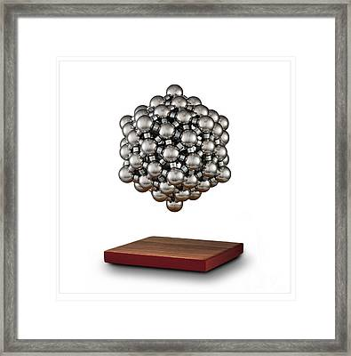 Snub Dodecahedron Framed Print by Raul Gonzalez