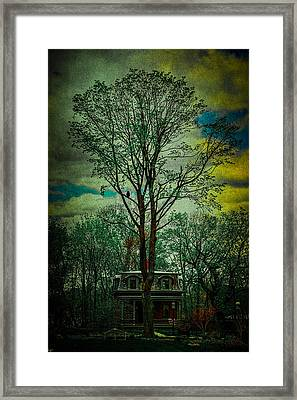 Snug Harbor Victorian Framed Print by Chris Lord