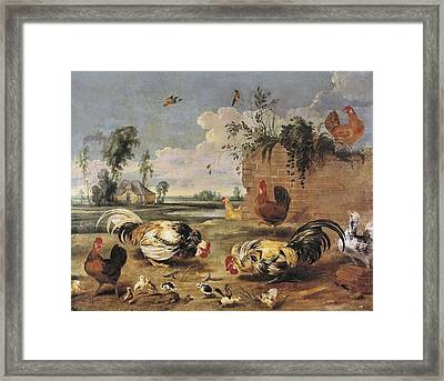 Snyders, Frans 1579-1657. Fight Framed Print by Everett