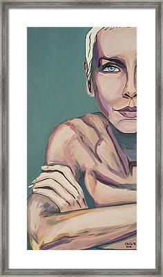 So Baby Talk To Me Framed Print by Christel  Roelandt