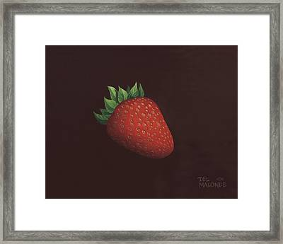 So Berry Good Framed Print