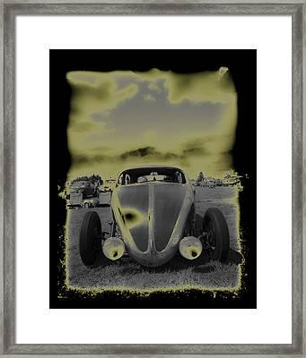 So Cal Vw Framed Print by Steve McKinzie
