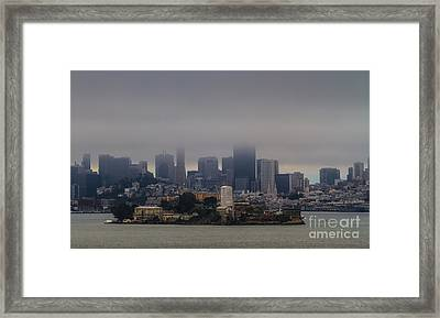 So Close And Yet So Far Framed Print by Mitch Shindelbower