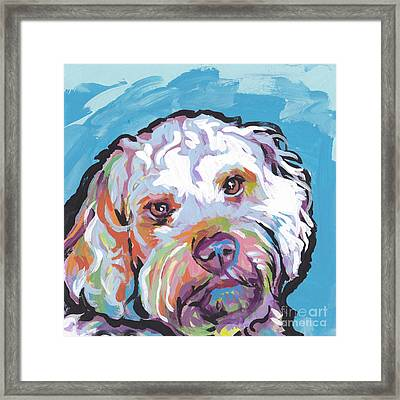 So Cocky Framed Print by Lea S