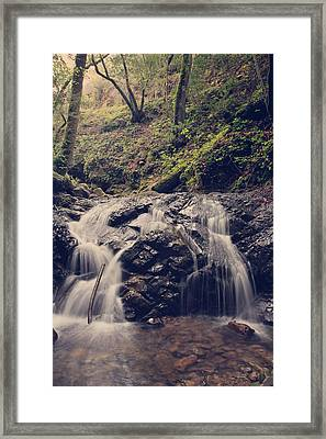 So Easy To Fall Framed Print by Laurie Search
