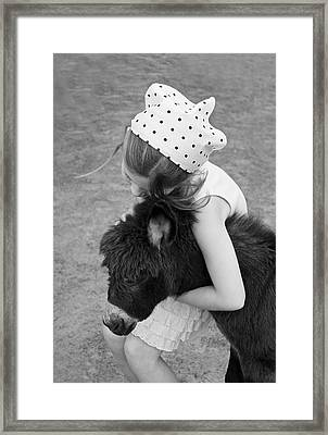 So In Love Framed Print