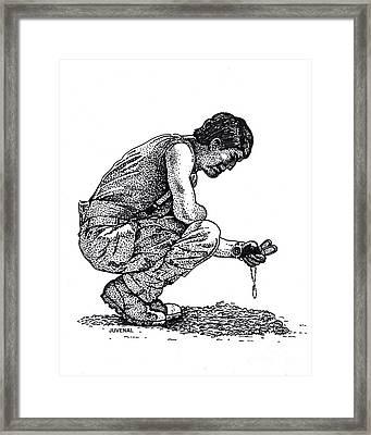 So Long Brother Framed Print by Joseph Juvenal