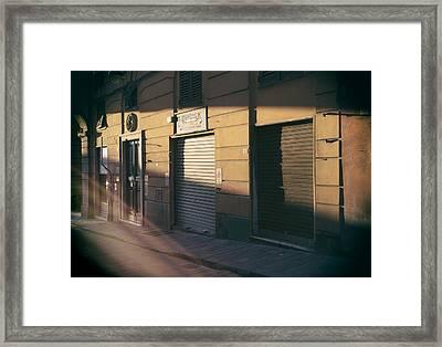 So Long Sun.. Framed Print by A Rey