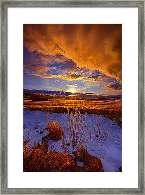 So Many Times Before Framed Print by Phil Koch