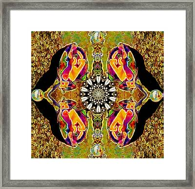 So Much To Talk About Pop Art Framed Print by Pepita Selles