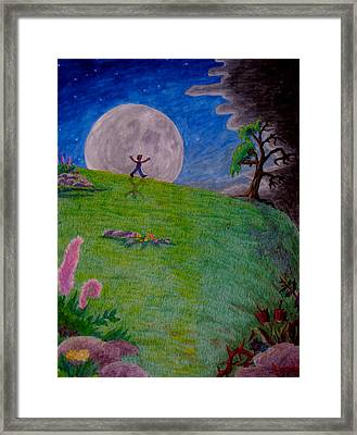So Off I Went ... Framed Print