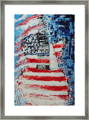 So Proudly We Hail Framed Print by Dan Campbell