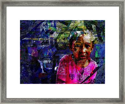 So Serious Framed Print by Keven Reynolds