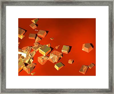 So Shiny Framed Print by Andreas Thust
