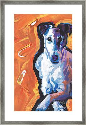 So Smooth Framed Print by Lea S