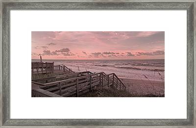 So This Is Paradise Framed Print by Betsy Knapp