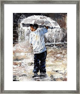 Soaked Framed Print by Emerico Imre Toth