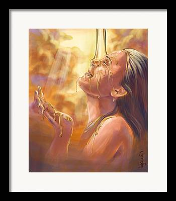 Yahweh Framed Prints