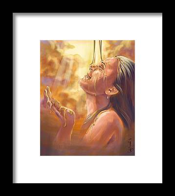 Prophetic Art Framed Prints