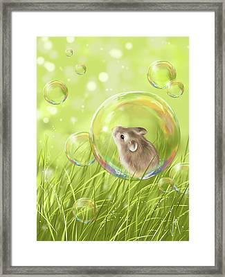 Soap Bubble Framed Print by Veronica Minozzi