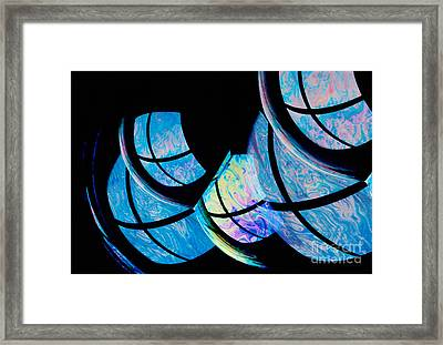 Soap Bubbles Framed Print by Erich Schrempp