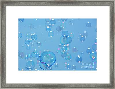 Soap Bubbles Framed Print by Jane Rix
