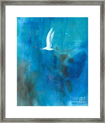 Soar II Framed Print by Mui-Joo Wee