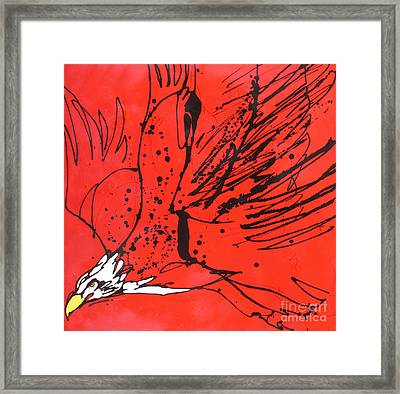Framed Print featuring the painting Soar by Nicole Gaitan