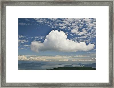 Soaring Cloud Framed Print